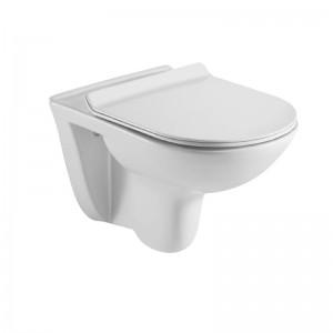 Vas WC rimless de perete Euro-Bella