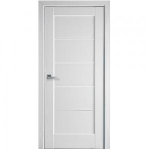Usa De Interior, MDF 200X80/70/60 cm, Alb Mat, Euro-MARA