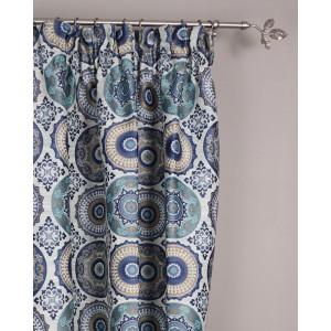 Draperie Coventry, albastru, 140x276cm
