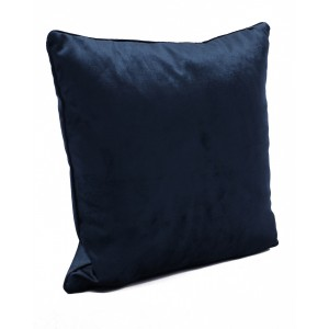 Fata de perna Arena, 40x40cm, catifea, albastru inchis